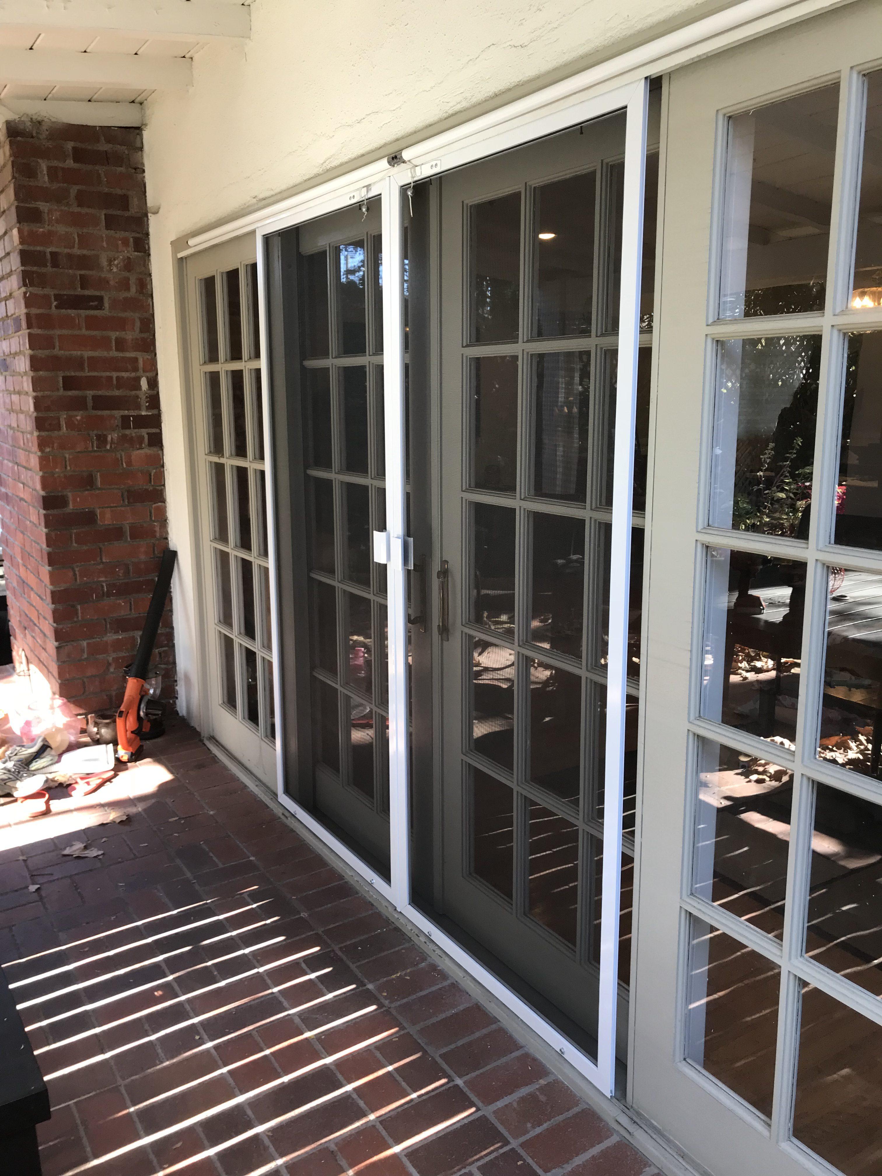 replace sliding screen door