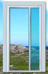 patio door retractable screen |