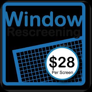 Window Rescreening |
