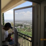Installing Screen Doors in San Fernnado Valley