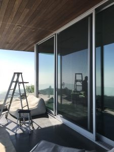 Retractable Screen Doors in Huntington Beach