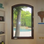 Arched Window Screen