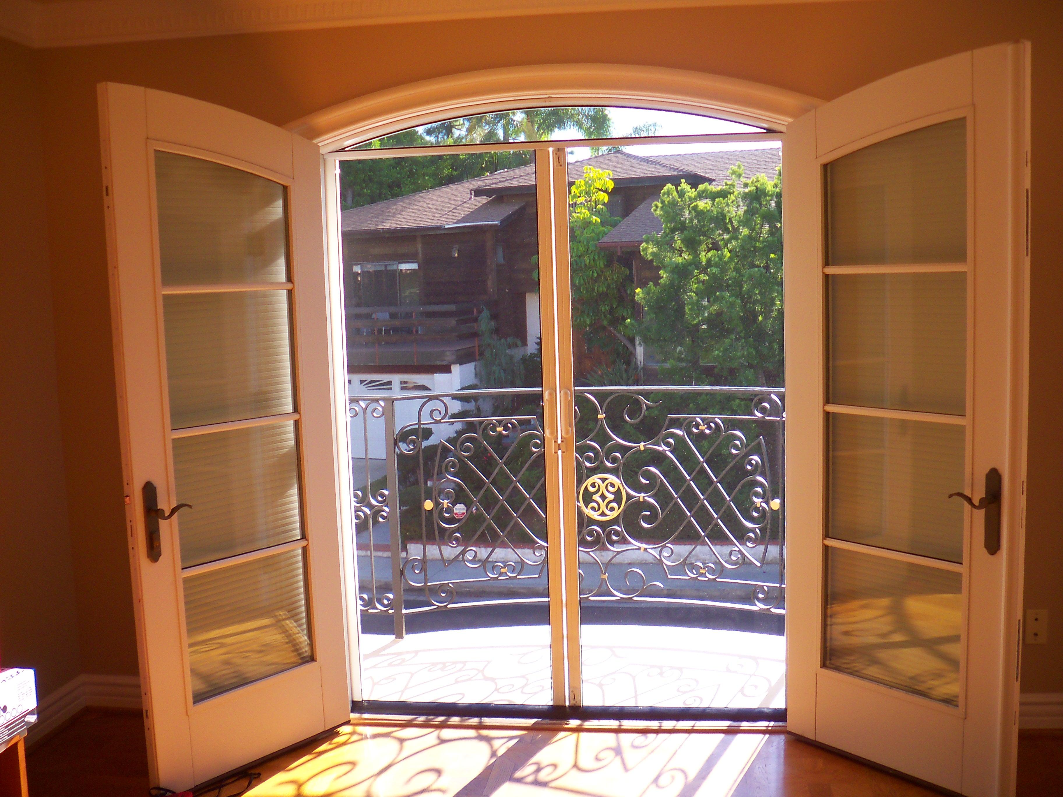 Arched Retractable Screen Doors Retractable Screen Doors