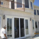 Exterior Swinging Screen Doors Installed in Porter Ranch