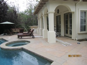All double sets retractable screen french doors screens | simi valley screen doors