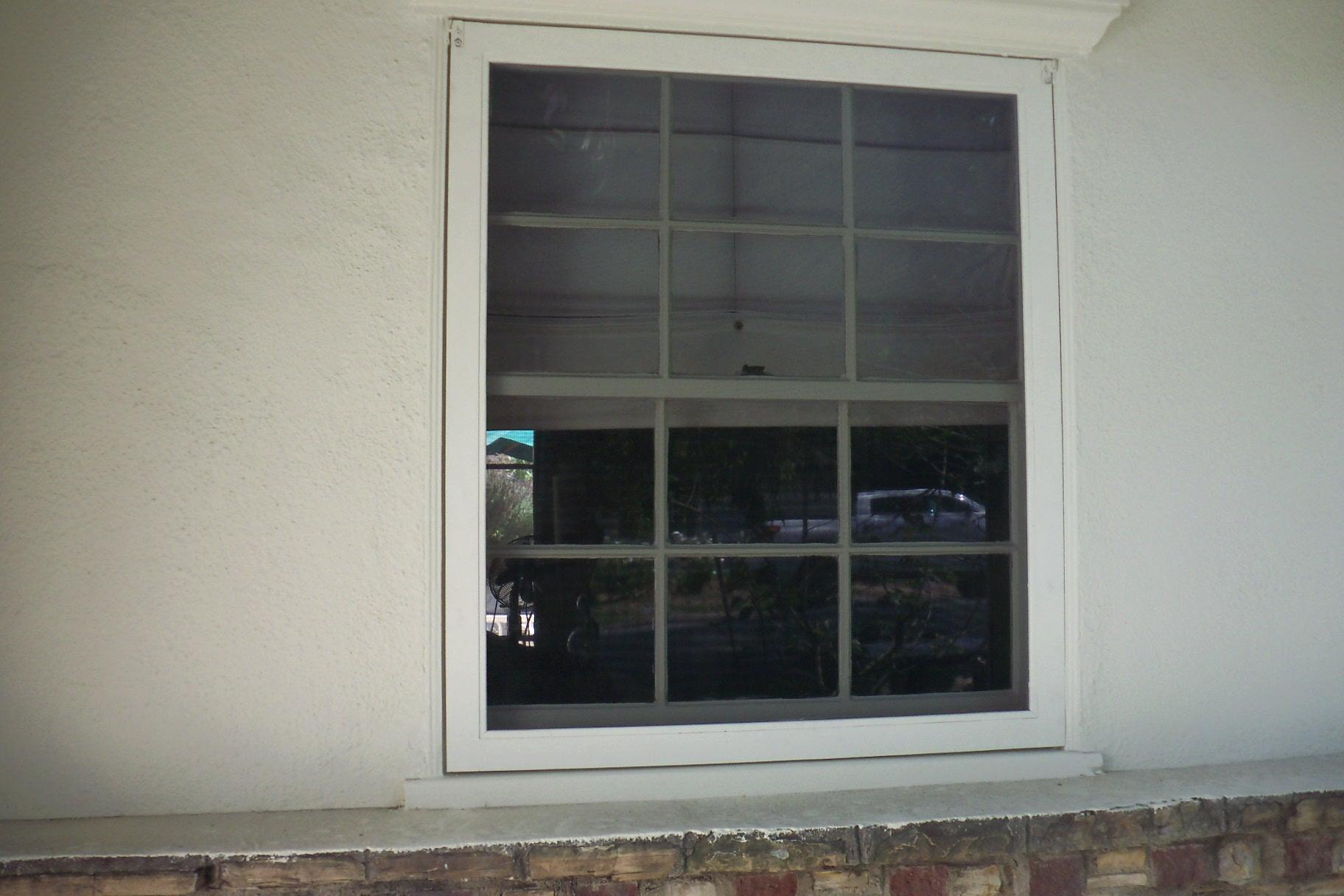Sash Windows with Screens |