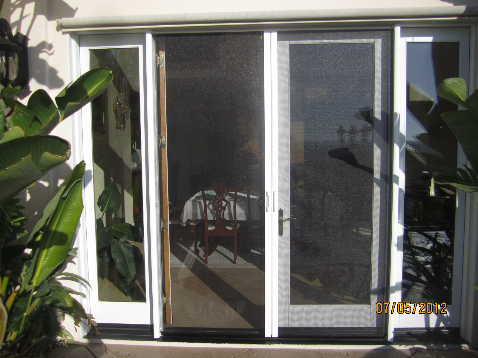 Hide Away Screen Door Retractable Screen Doors