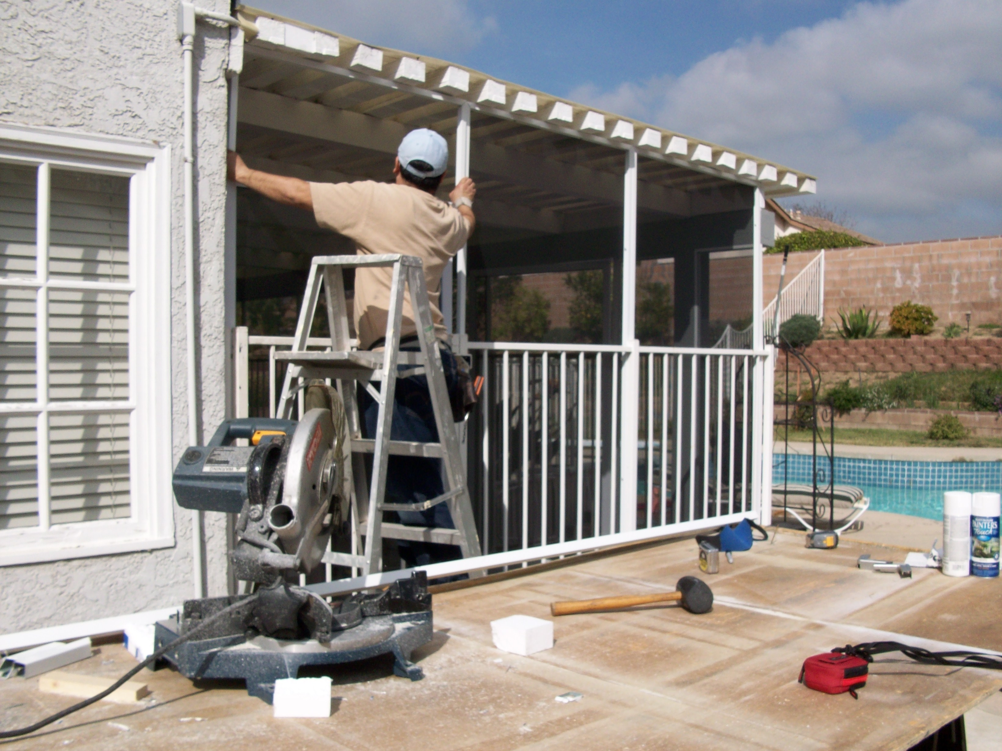 Patio enclosure Built and Installed in Agoura Hills