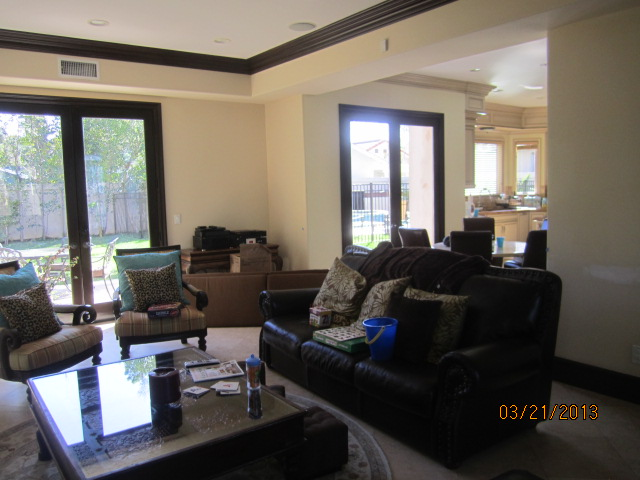 Interior Screens with Crank Windows installed in Topanga |
