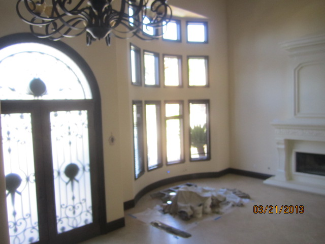 Interior Screens with Crank Windows installed in Topanga