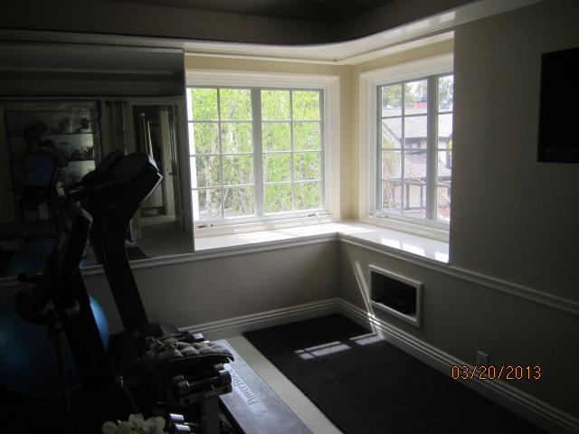 Interior Screens with Crank Windows installed in Topanga