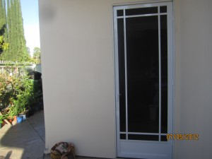 Prairie Swinging Screen Door