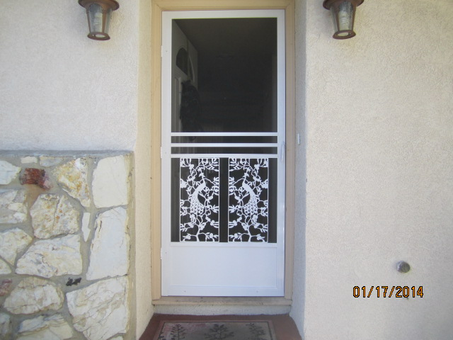 El Dorado Swinging Screen Door