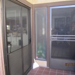 Model-E bronze Swinging Screen Door