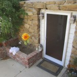 Vista white Swinging Screen Door