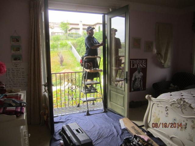 Retractable screen doors installed in Topanga