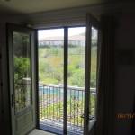 Closed set of retractable screen doors in Topanga | Topanga Screens