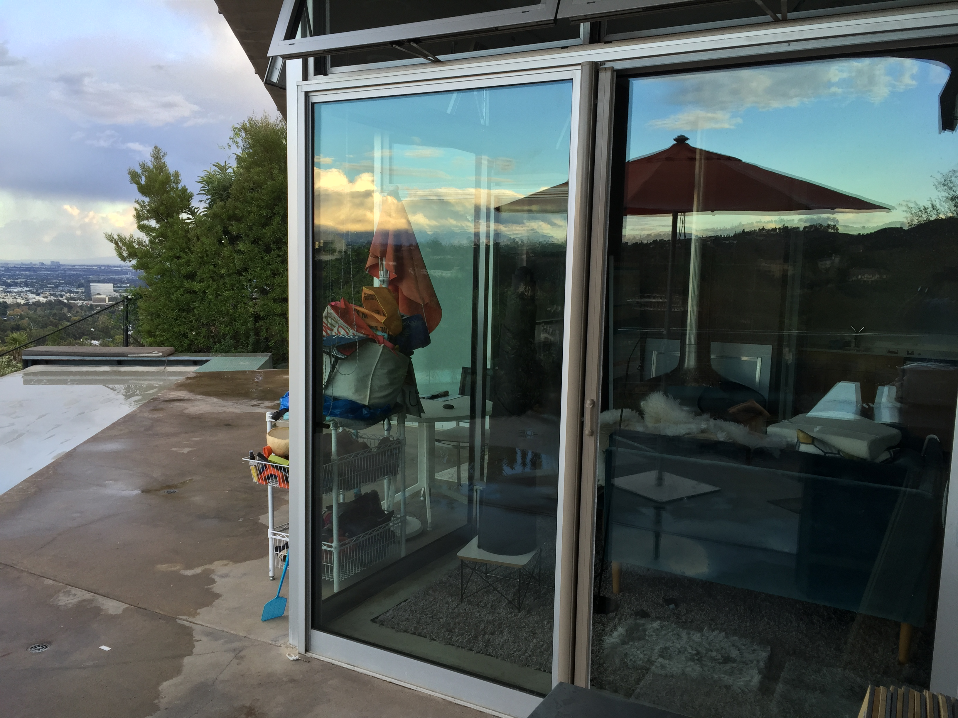 Retractable Screen Doors in Topanga French Doors |