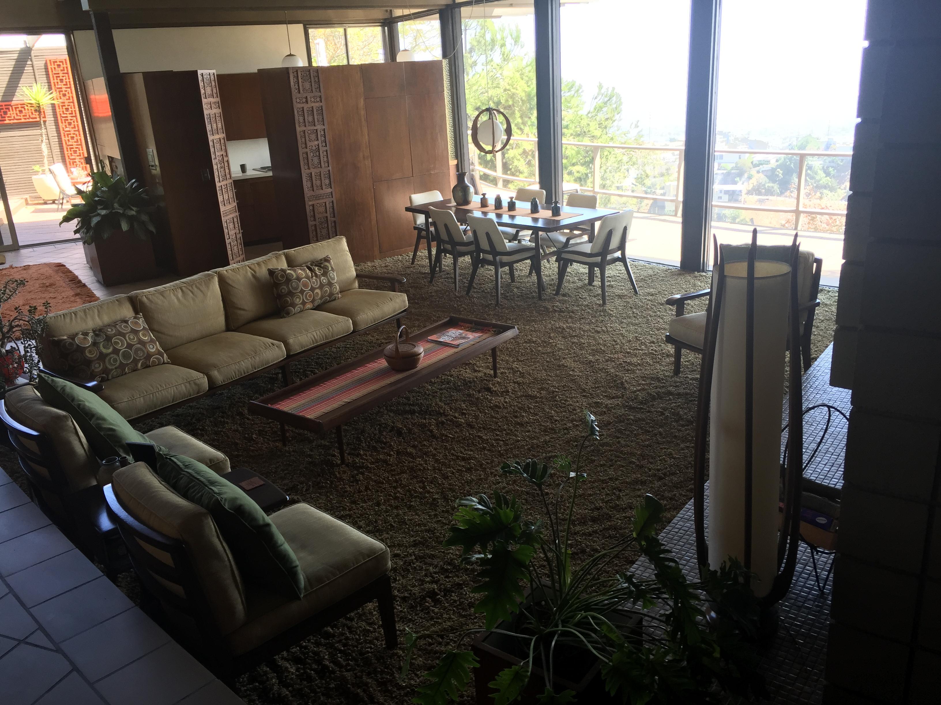Studio City Screen Doors installed in Living Room