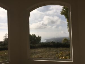 Malibu home arched window screen replacement | Window Screen Repair in Malibu