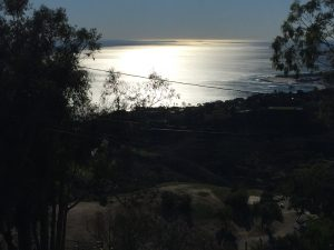Malibu home arched window screen replacement ocean view | Window Screen Repair in Malibu
