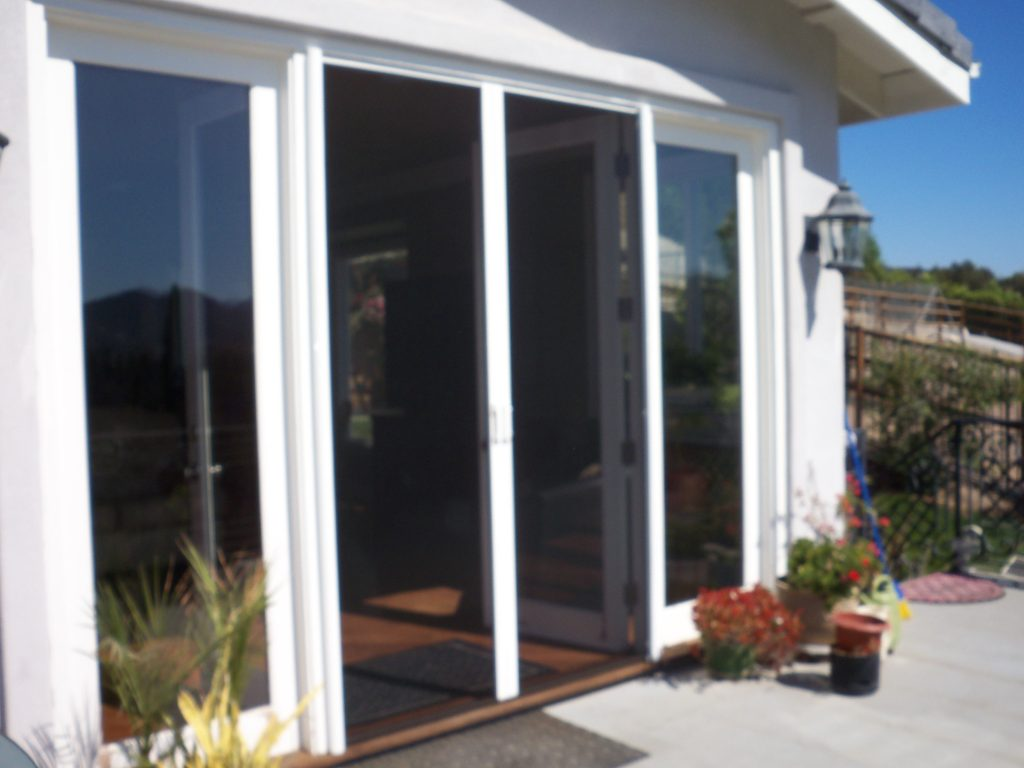 Invisible Screens Doors in Sherman Oaks | Retractable Screens Custom Made